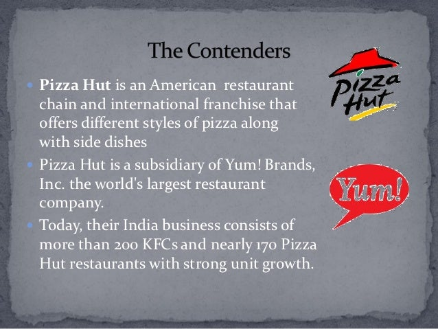 pizza hut is an american restaurant chain marketing essay Essay about tales: pizza hut and essay on marketing: recession and pizza in 1981 pizza hut became the largest pizza restaurant in the world accounting for.