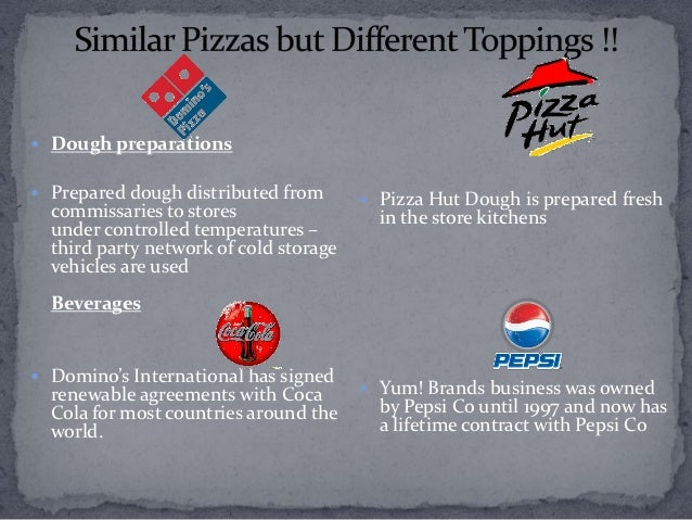 comparitive study dominos and pizza hut Project report on pizza hut pdf marketing project on pizza hut wed love to hear what you think project report on comparative study of pizza hut and dominos.