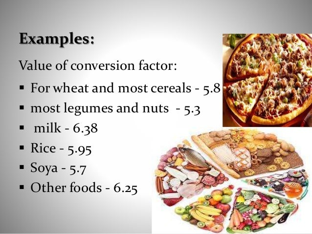 Estimating Protein Contents In Food
