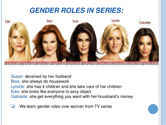tv shows that show gender roles