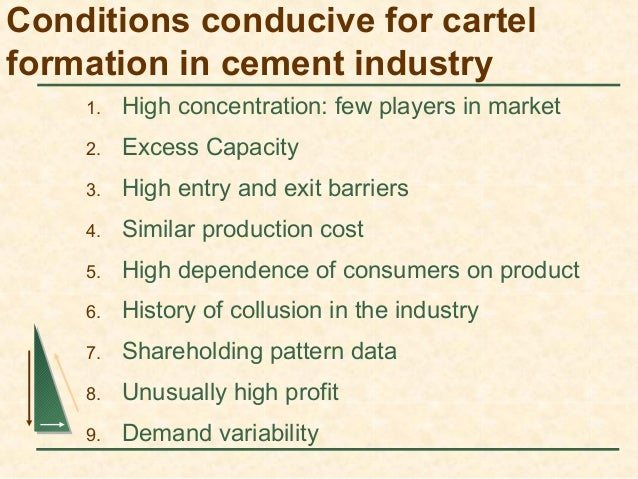 cartel formation 'tea cartel' formed to boost profits the price of a cup of tea could rise after the  world's biggest producers agreed to join forces to boost profits,.