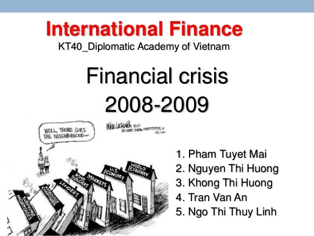 US Financial Crisis 2008 Essay Dissertation Help