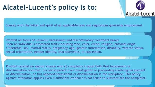 discriminatory policies