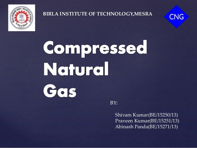 compressed natural gas ppt