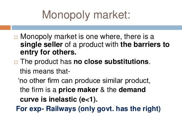 difference between monopoly and monopolistic competition pdf