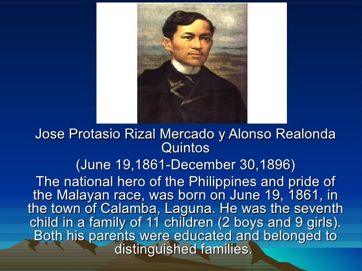 Why Is Rizal Our National Hero Essay
