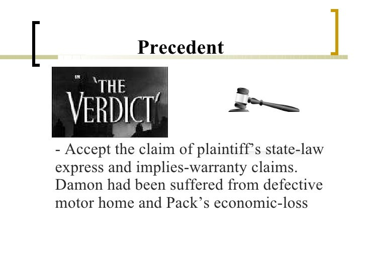 implied warranties case study Conditions implied and express: conditions implied and express,opening para of section 16 makes it clear that there is no implied warranty or condition as to quality.