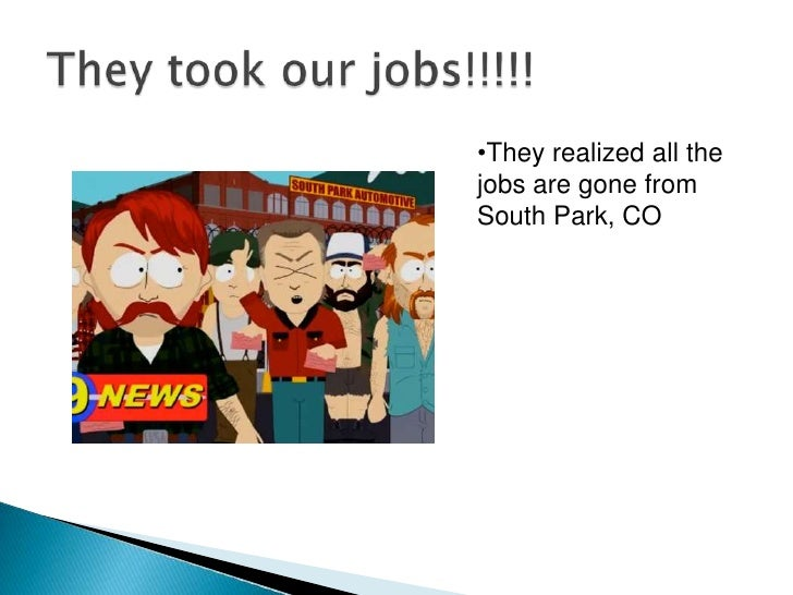South of the Office Story Board Slide 3