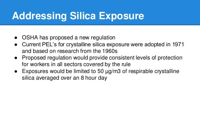 Worker Exposure to Crystalline Silica During Hydraulic Fracturing