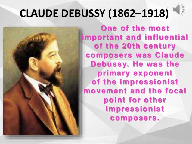 most important impressionist composer