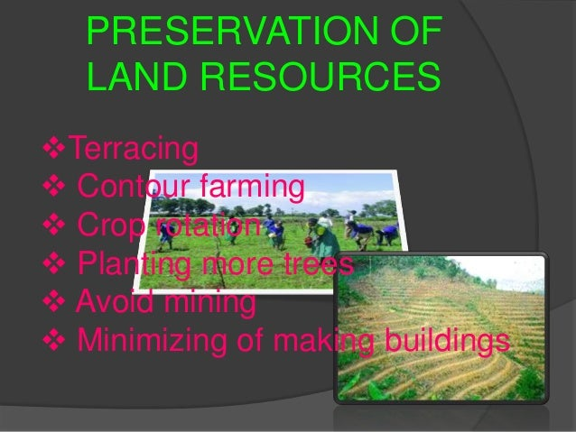 Preservation Of Natural Resources In The Philippines