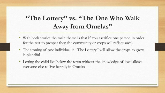 The Ones Who Walk Away from Omelas Summary
