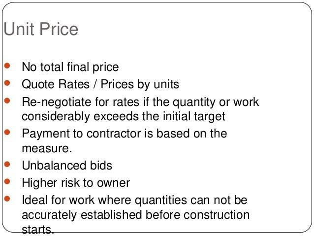 define unit pricing