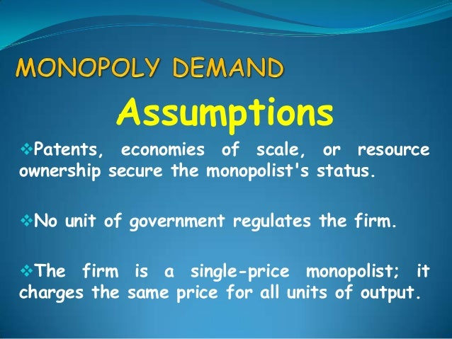 pure monopoly's Get an answer for 'give real life examples of a monopoly, perfect competition, oligopoly, monopolistic competition and duopoly in india' and find homework help for other business questions at enotes.