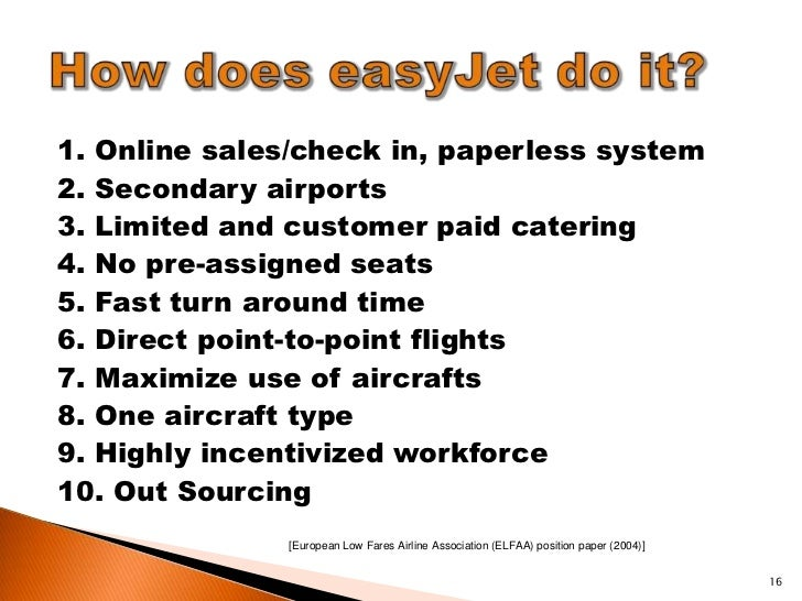the marketing strategies implemented by the airline easyjet marketing essay 2011 [what is the impact of strategic marketing management in the airline industry - case study of ba and easyjet [type the.