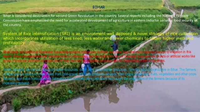 RAJASTHAN In Rajasthan, 61% of the cultivable area falls under arid and semi arid zones where rainfall is very low and soi...