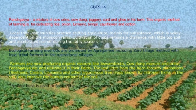 3)What is organic farming or eco friendly farming? -> Organic farming is a method of crop and livestock production that in...