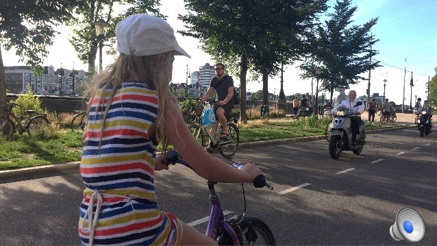 Euphoria in biketopia Home deficiencies Transferable opportunities Dutch Bike history realities Going home AMS's future? H...