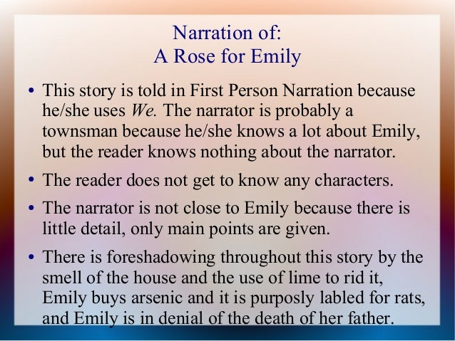 reader response to a rose for emily Full-text (pdf) | a response paper on william faulkner's a rose for emily.