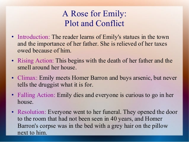 Thesis statement for the story a rose for emily