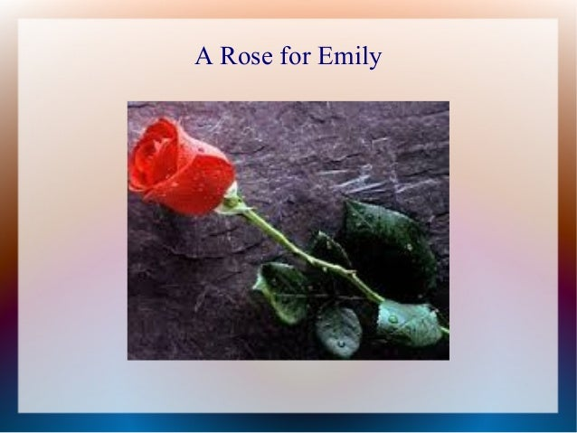 Foreshadowing in a rose for emily