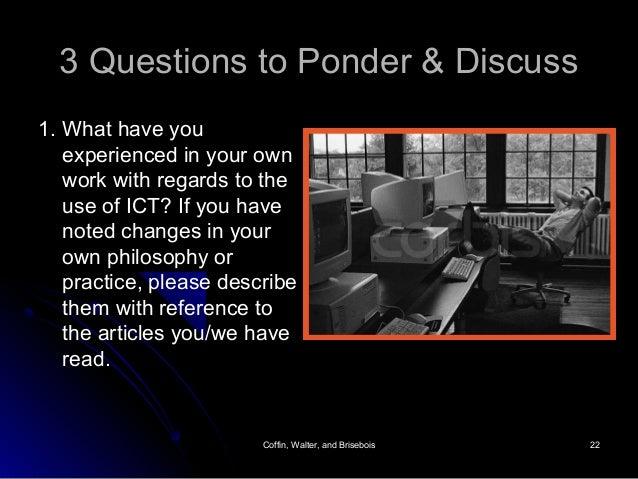 Coffin, Walter, and BriseboisCoffin, Walter, and Brisebois 2222 3 Questions to Ponder & Discuss3 Questions to Ponder & Dis...