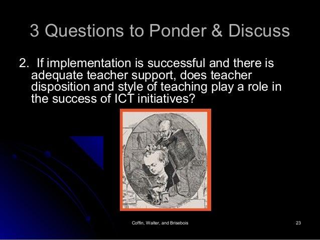Coffin, Walter, and BriseboisCoffin, Walter, and Brisebois 2323 3 Questions to Ponder & Discuss3 Questions to Ponder & Dis...