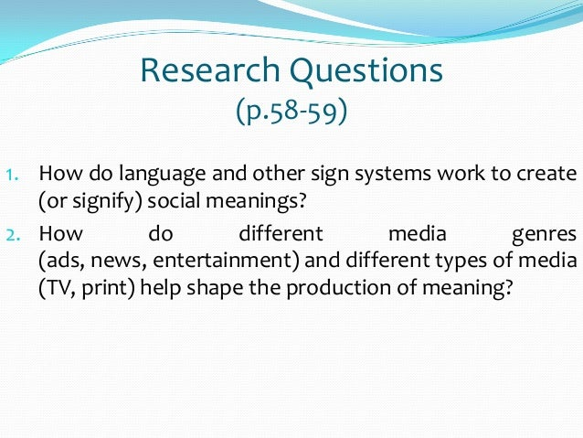 do the media construct social reality or Dr dennis hiebert presents: what does 'the social construction of reality' mean.