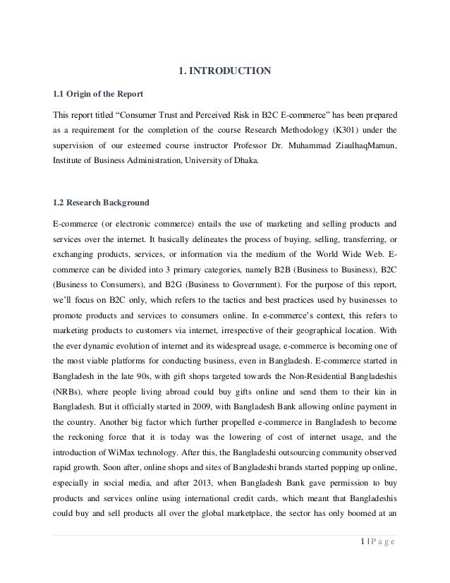 Security e commerce research paper