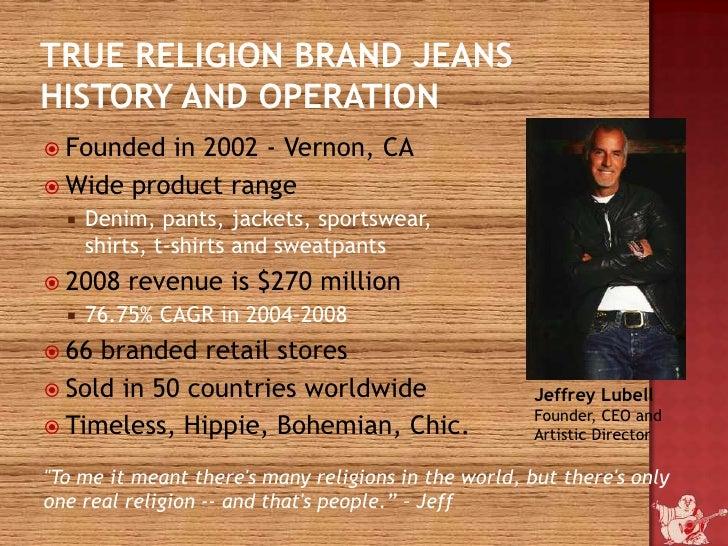 True Religion (TRLG) SWOT Analysis