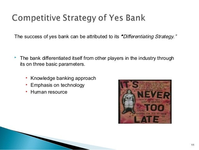 Yes Bank Growth Strategy