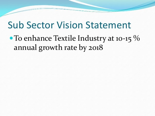 analysis of the textile industry in pakistan Textile industry is the backbone of pakistan and it plays a vital role for the development of the economy of pakistan the research paper is conducted to know the swot analysis of pakistan's .
