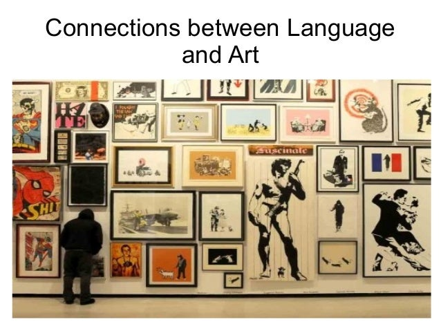 Connections between Language and Art