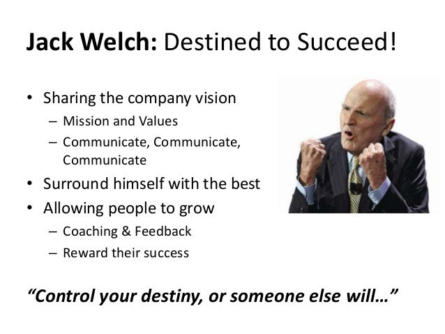 jack welch on differentiation Former ge ceo jack welch offers 'winning' advice on how to succeed in business jack welch, former chief this principle — welch calls it differentiation in his new book — is based on his well-known 20/70/10 framework that seeks to move the top 20 percent of employees.