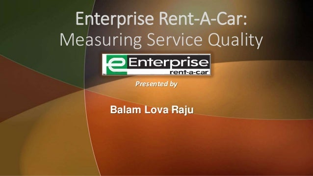 ENTERPRISE RENT A CAR Harvard Case Solution & Analysis