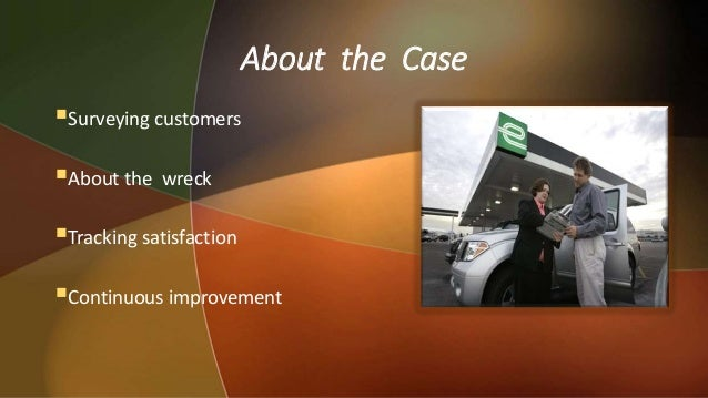 enterprise rent a car measuring service quality Measuring customer delight at  how it tracked the quality of  with enterprise rent-a-car that a key to measuring loyalty was.
