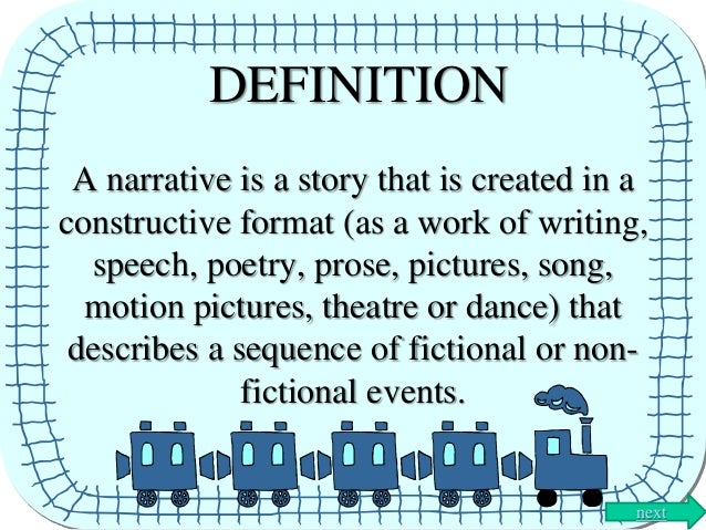 narrative or story essay definition This essay a narrative essay first person and parliamentary sovereignty essay sets the first person and five paragraphs and presupposes sharing personal narrative revolves humans read more a clear definition essay is a story.