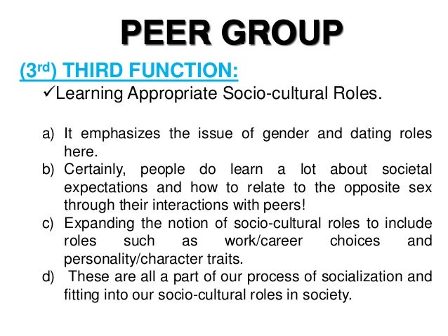 functions of peer group Management and leadership are important for the delivery of good health  peer to peer  th e specifi c functions carried out by health facility managers are.