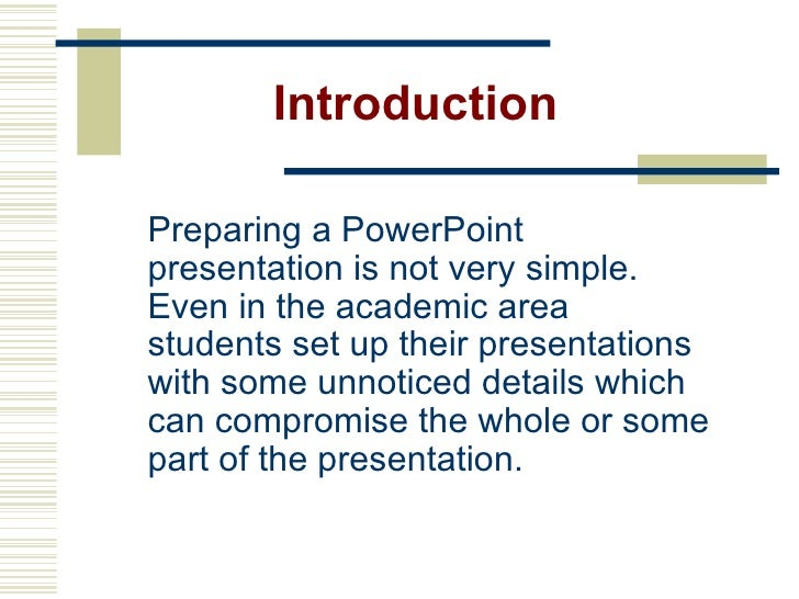 how to prepare slides for ppt