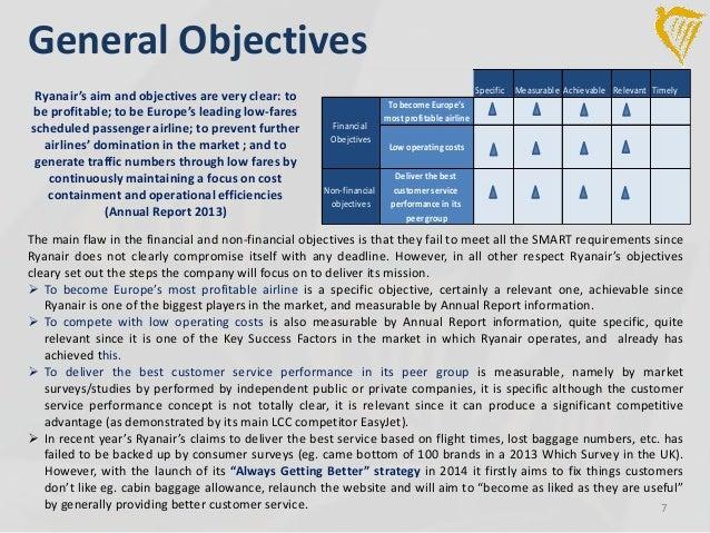 british airways objectives 2018