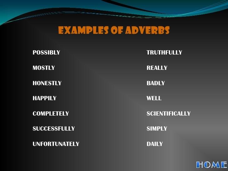 Group 3 Adverbs