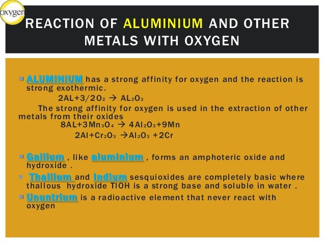 Group 3 a element of periodic table reaction of boron with oxygen 16 urtaz Image collections