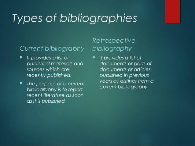 Types of bibliographies kinomusorka ru homework 1982