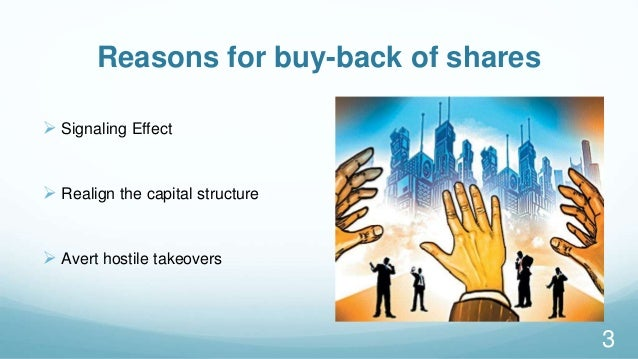 buy back securities The past few months have seen a number of companies offering to buy back their equity through either open-market purchases or tender  india nivesh securities: .