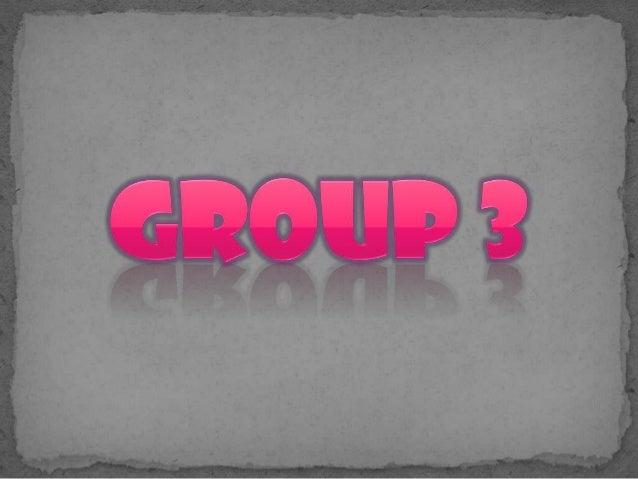 Group3 report Panghalip na Panao