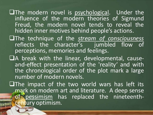 modernism and the modern novel essay When mid-century met modernism in an essay for som journal 10 it clearly started with the 1984 publication of a book titled mid-century modern.
