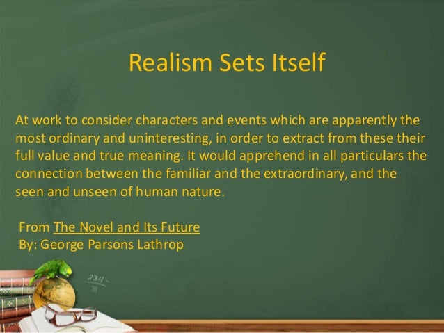 from realism to modernism essay Modernism essays neo art essay / art history essays / modern art they share the rejection of conventional realism and the search for new way to.