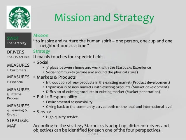 starbucks operation strategy Starbucks operation management analysis download starbucks operation management analysis uploaded by mieza kumiko  product design strategy 1) differentiation .