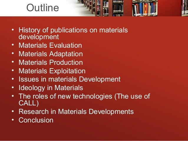 Materials Development In Language Teaching Pdf