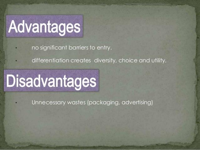 advantages of monopolistic competition